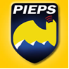Logo of Pieps, supporting sponsor.