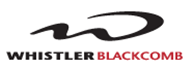 Logo of Whistler Blackcomb, supporting sponsor.